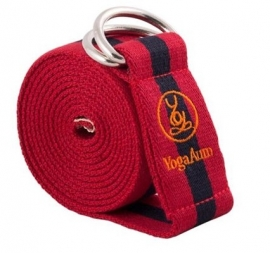 YogaAum AumStrap - Red/Navy