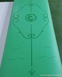combini yoga mat - green