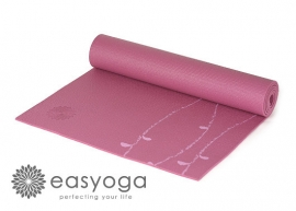 easyoga Premium Nadi Vine Yoga Mat - P3 Light Purple